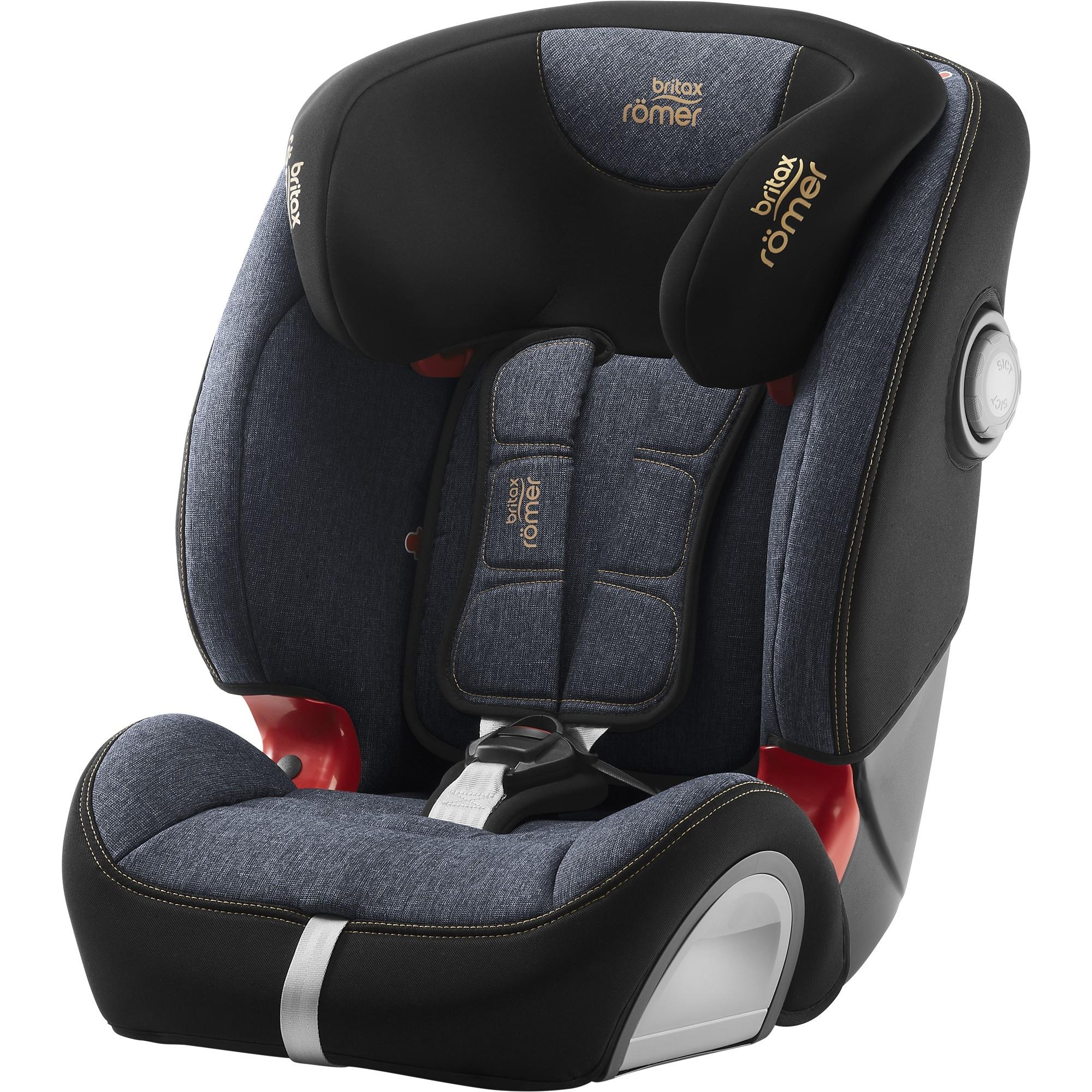 9-36kg//9M-12Y Britax Romer EVOLVA SL SICT Group 1//2//3 Car Seat