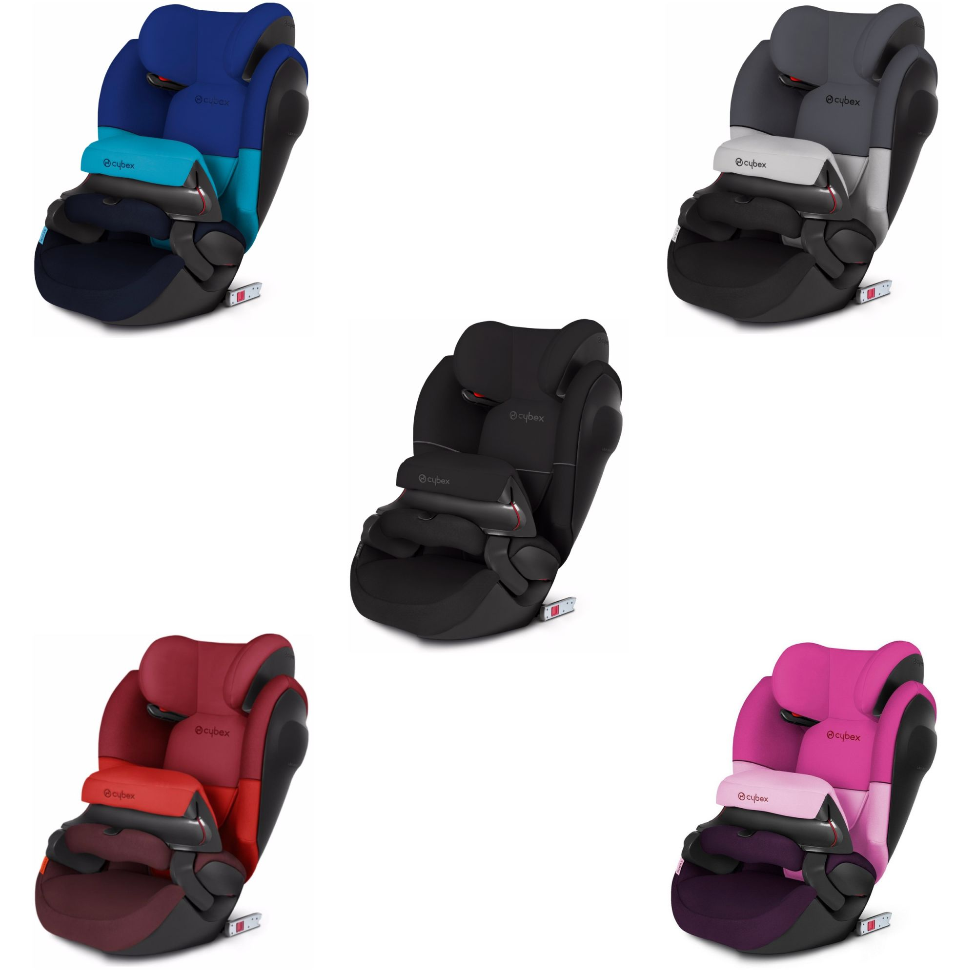 4-12 Years 3 Isofix Child/'s Car Seat 15-36kg Cybex Solution M-Fix SL Group 2