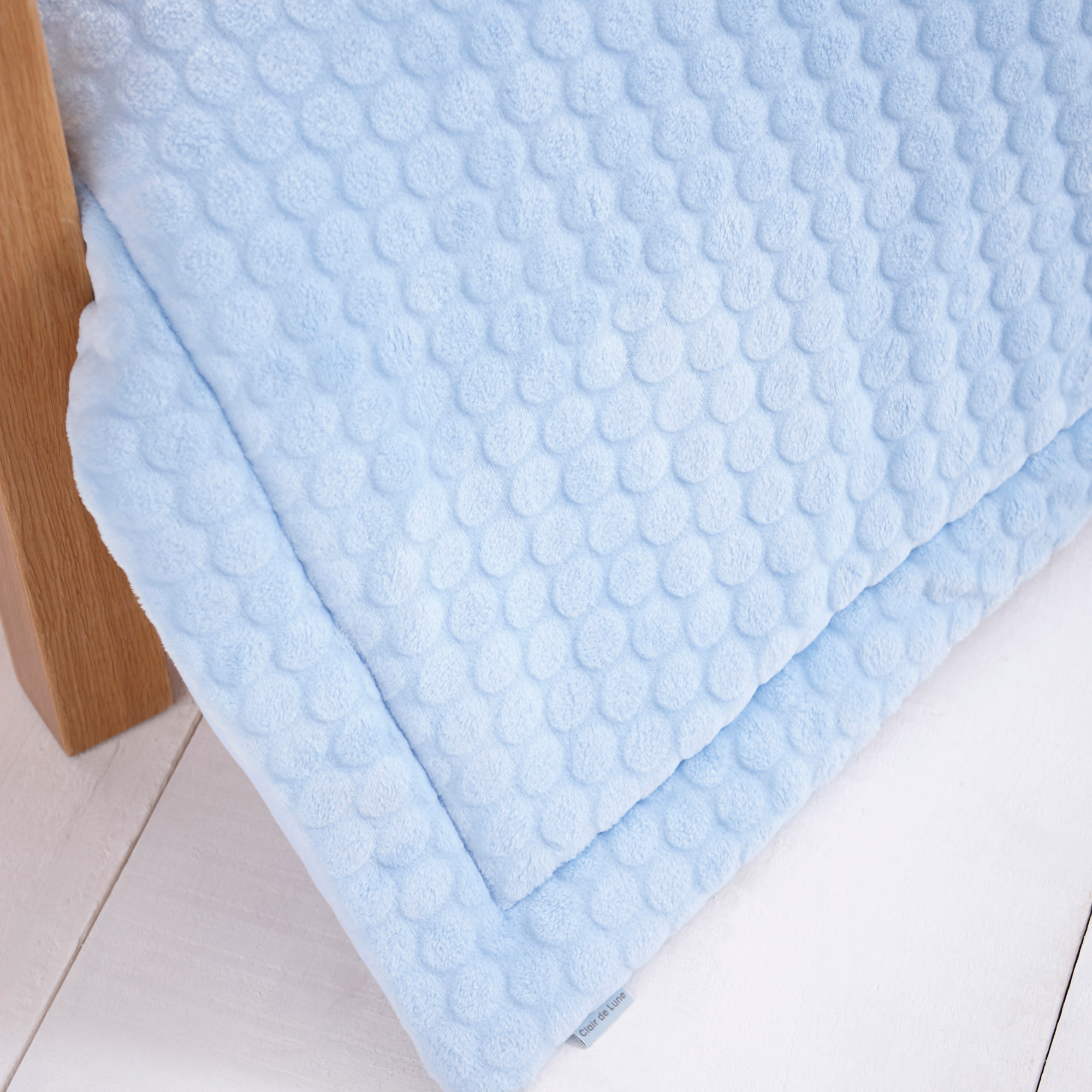 Clair de Lune Marshmallow Baby Blanket Pram//Crib//Car Seat//Moses Basket