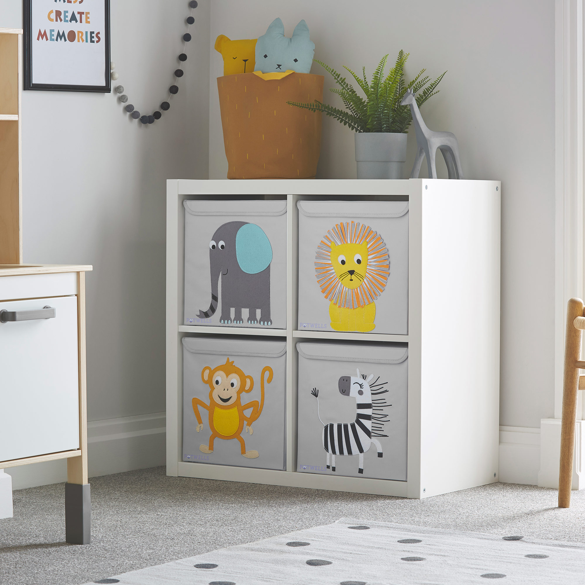 Potwells Nursery Storage Box - Kids/Children's Toys etc | eBay