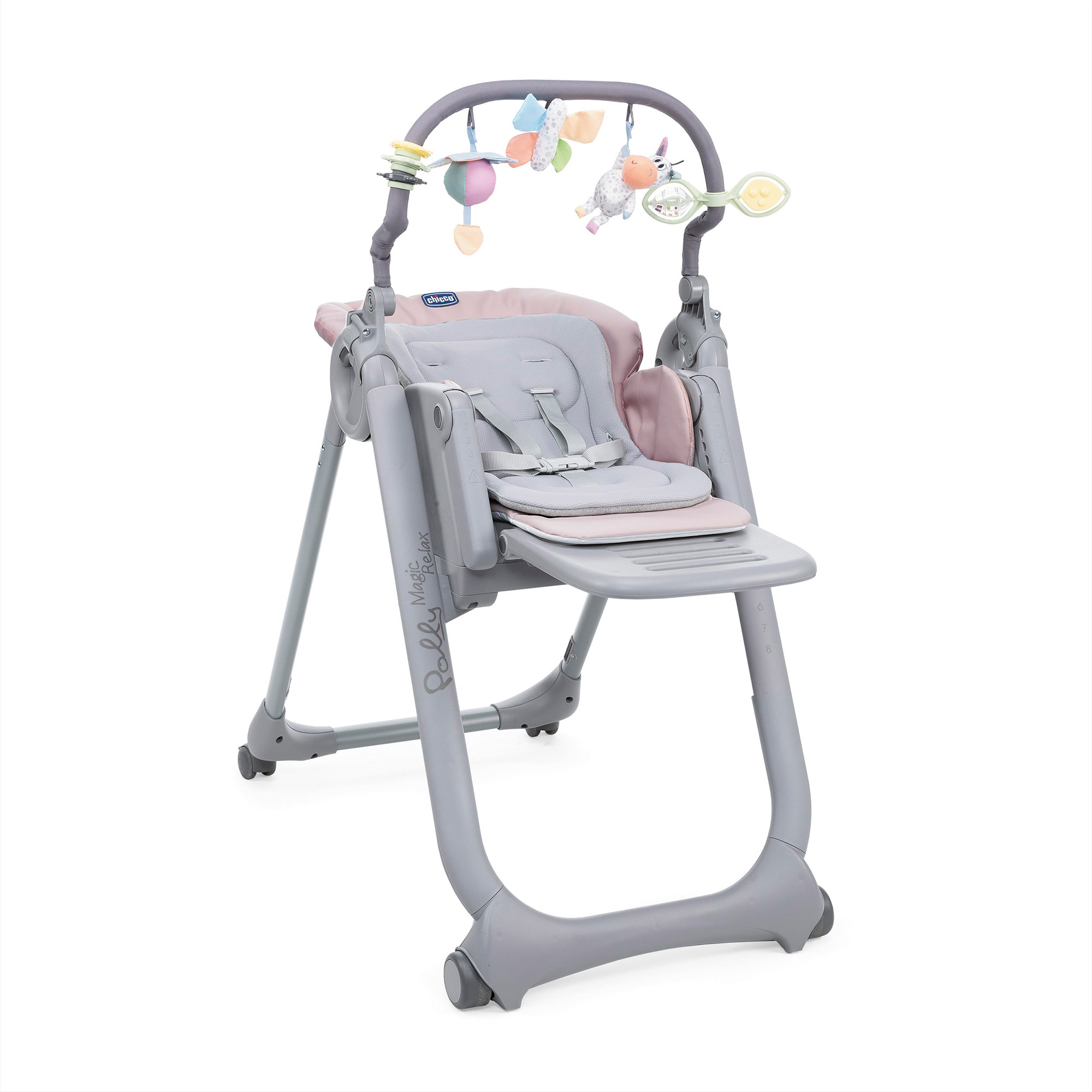 Chicco Polly Magic Relax Baby Adjustable High Chair Seat