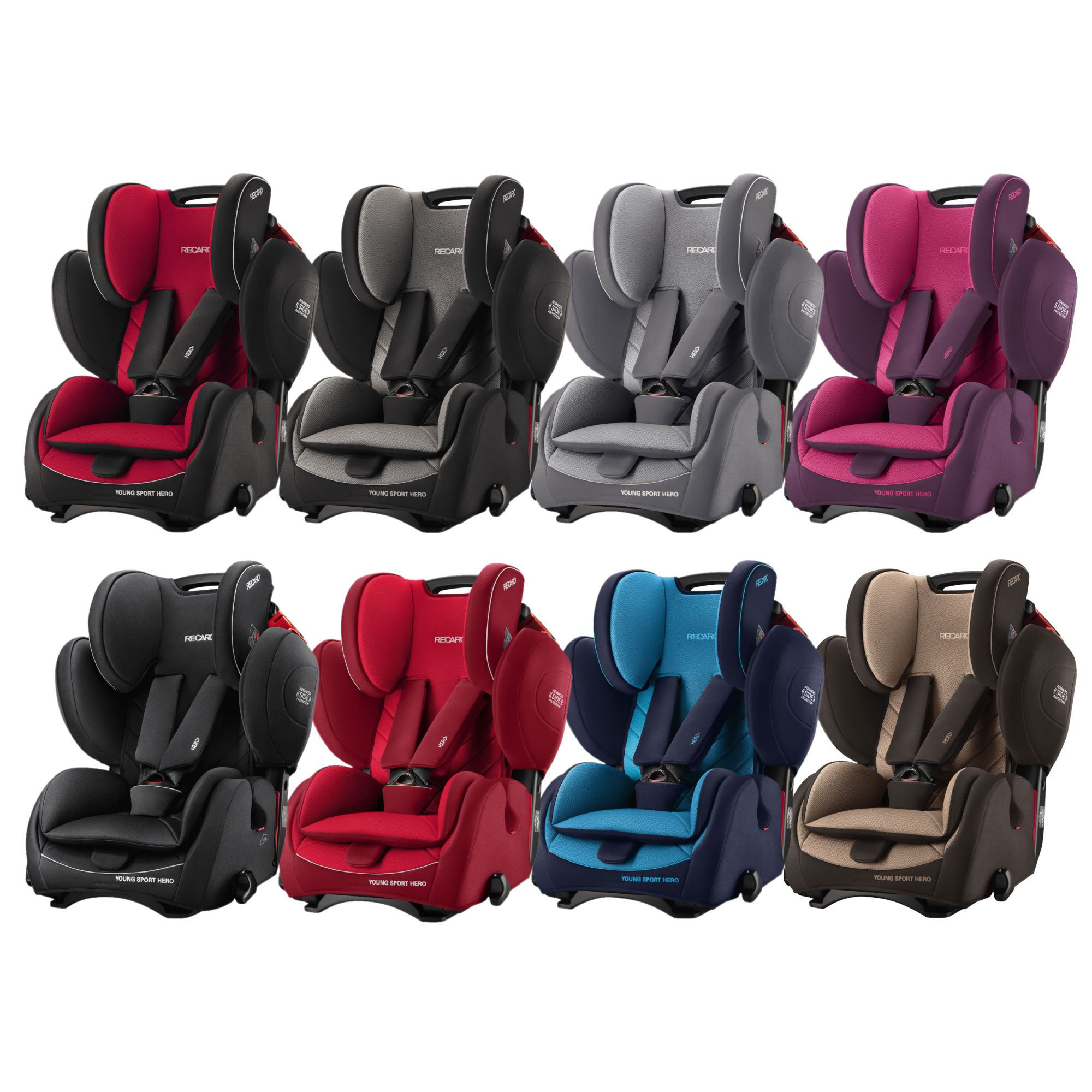 Recaro Young Sport Hero Group 1//2//3 Child Car Seat