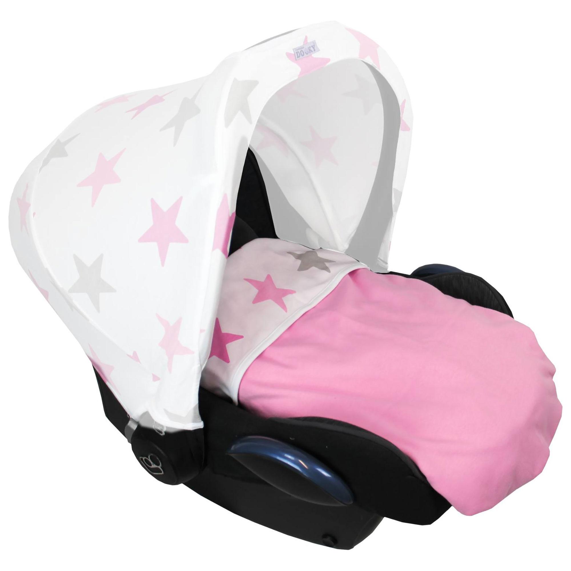 Manta de bebé dooky para cochecito//capazo//asiento de coche etc.