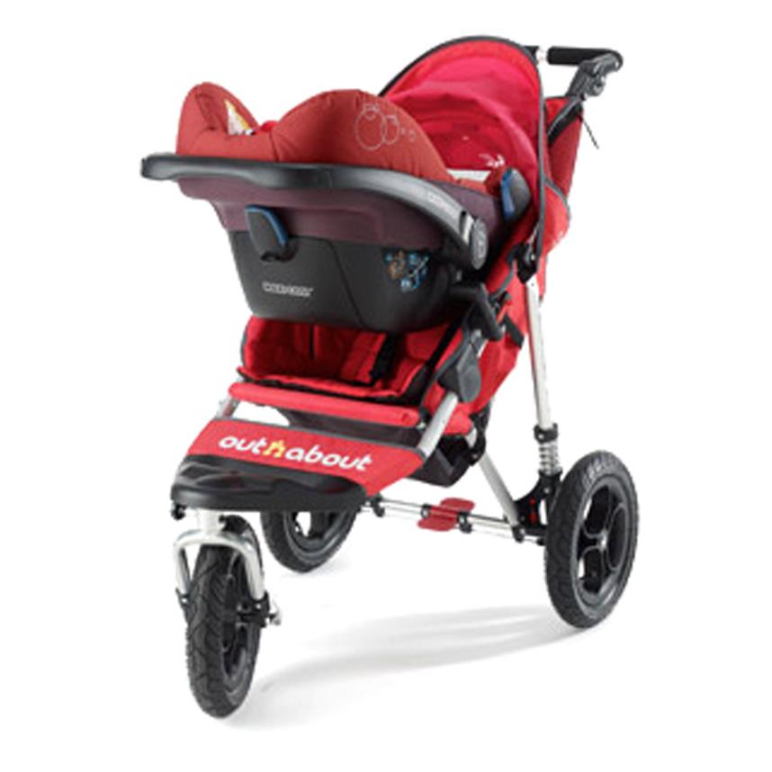 New Out n About Nipper 360 Single /& Sport Buggy//Pram Maxi Cosi Car Seat Adaptors