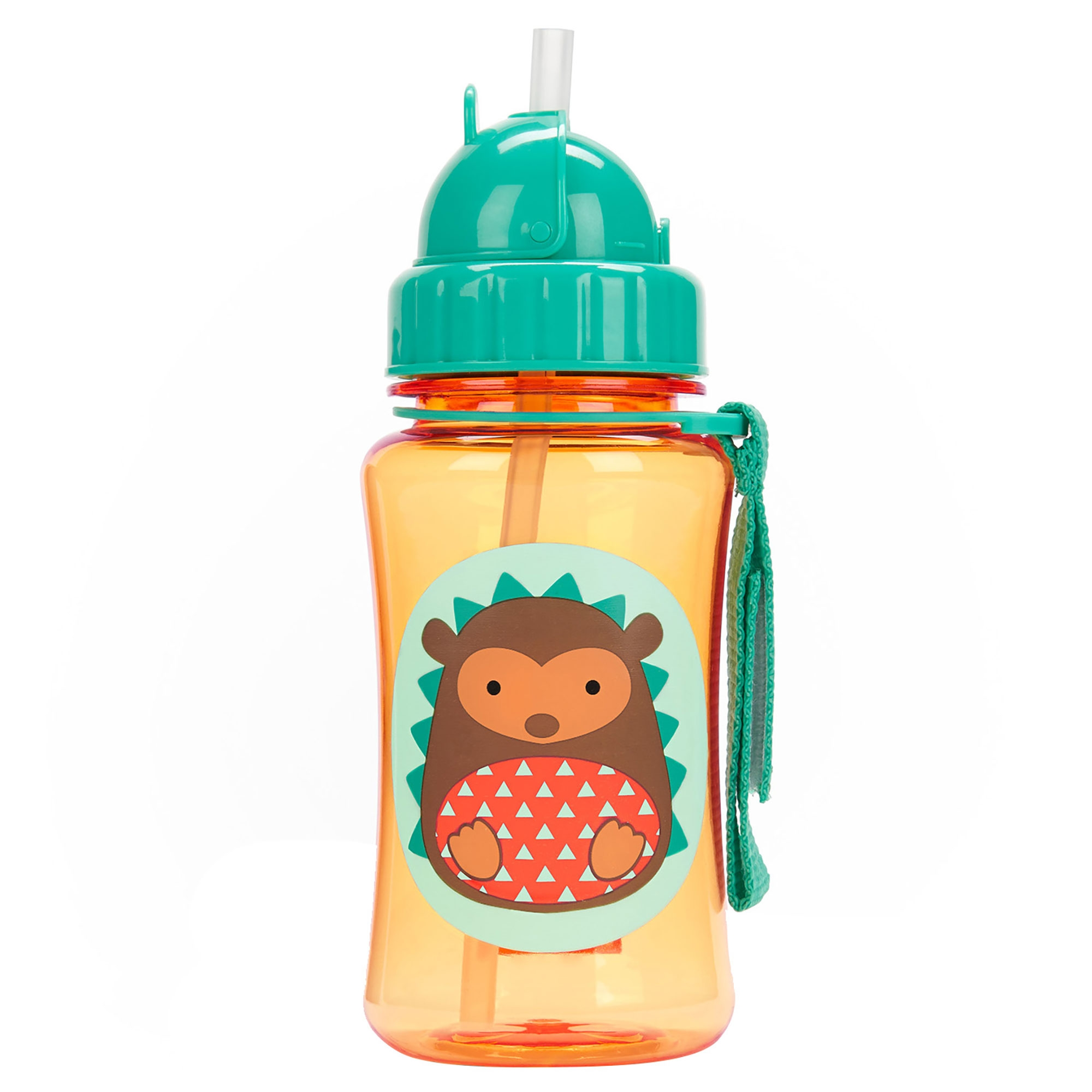 LLAMA Kids Straw Pop-Up Drinking Bottle BN Skip Hop ZOO STRAW BOTTLE
