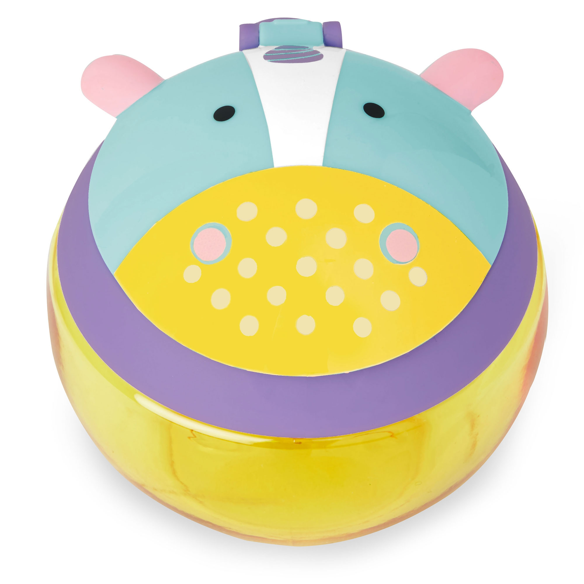 Toddler Feeding No Spill Snack Cup With Snap-Top Lid Skip Hop Zoo Baby